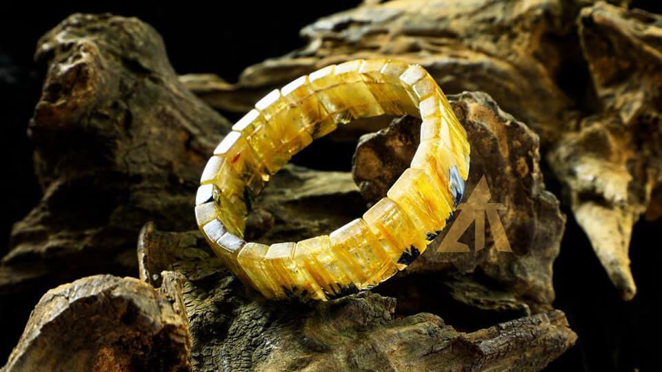 Thạch anh tóc vàng - Loại đá chiêu tài hút lộc hàng đầu 140