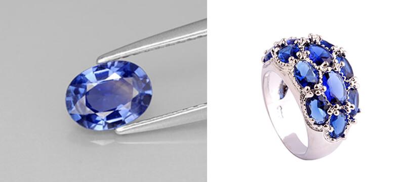 Sapphire Xanh phổ biến nhất thế giới.