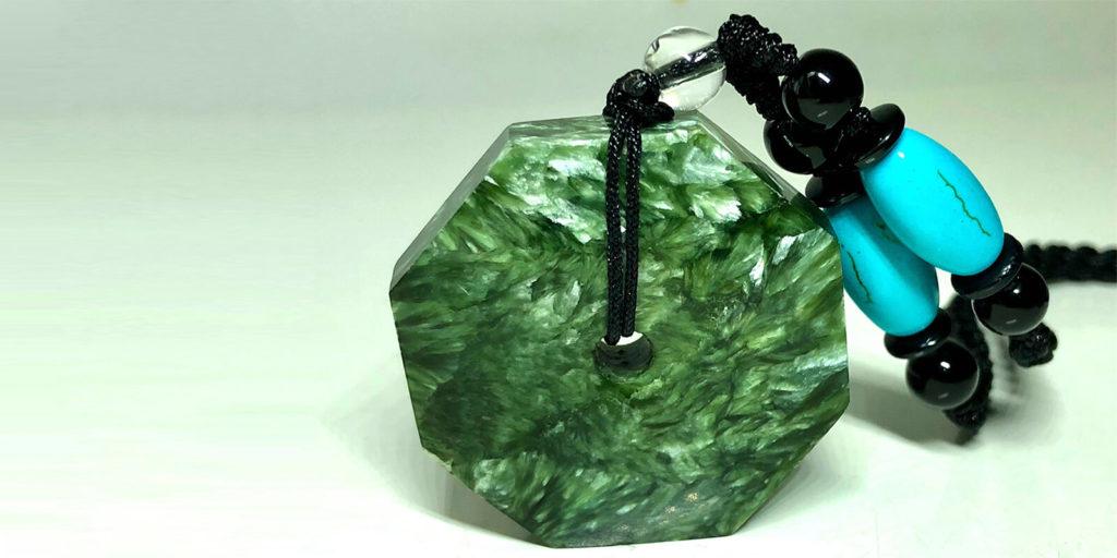 Seraphinite và công dụng đá Seraphinite 117
