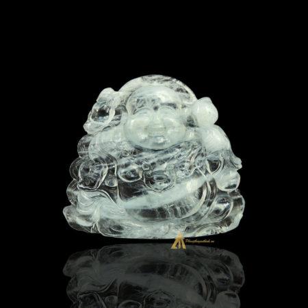 Mặt Phật Di Lặc Aquamarine #MAQ0003