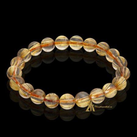 Vòng tay Thạch Anh Tóc Vàng #VT0003