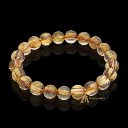 Vòng tay Thạch Anh Tóc Vàng #VT0005