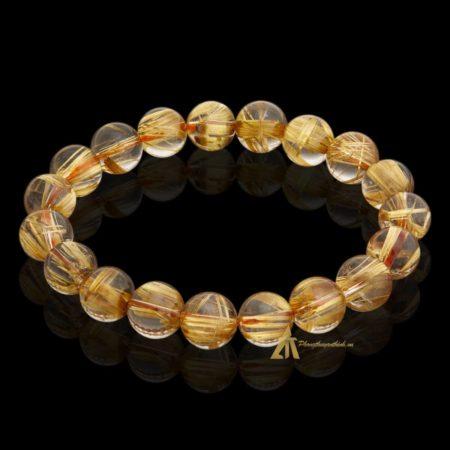 Vòng tay Thạch Anh Tóc Vàng #VT0012