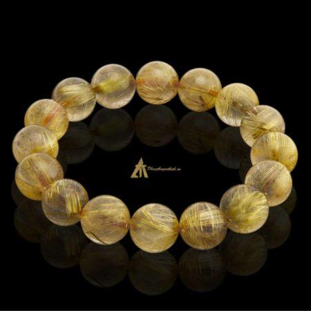 Vòng tay Thạch Anh Tóc Vàng #VT0015