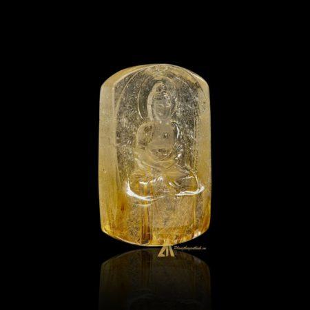 Mặt Phật A Di Đà - Tóc vàng bã mía #MTV0191