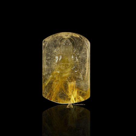 Mặt Phật A Di Đà - Tóc vàng bã mía #MTV0204