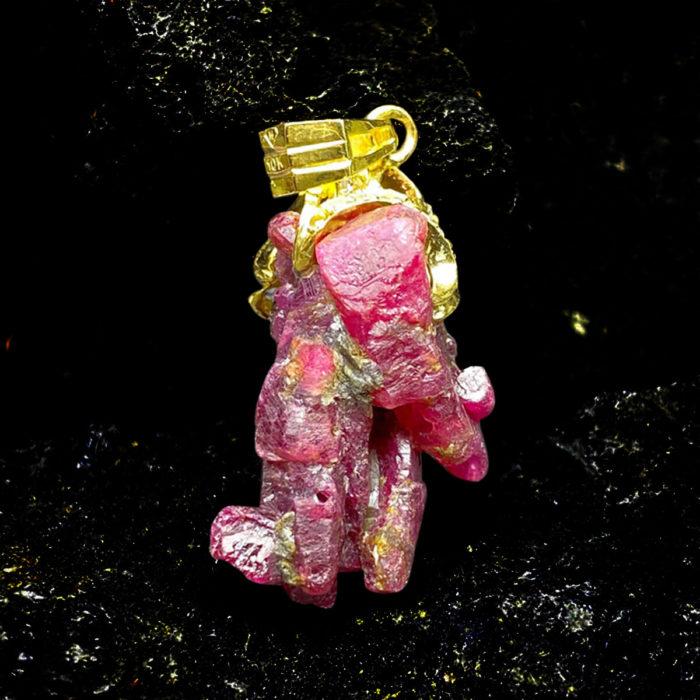 Mặt Tinh Thể Ruby Lục Yên #MRBLY-0330-01 1