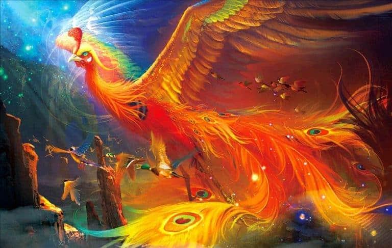 Phượng Hoàng là linh vật linh thiêng trong rất nhiều nền tôn giáo.