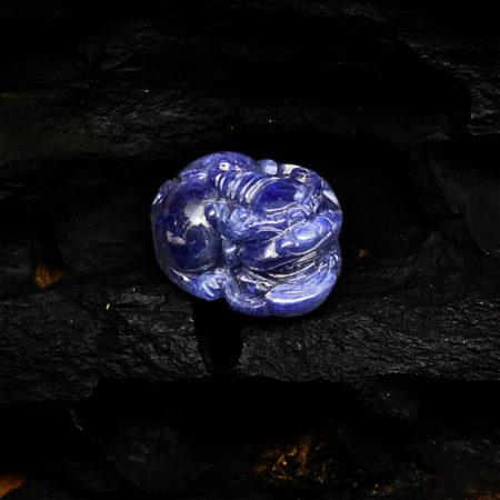 Mặt Tỳ Hưu Đá Sapphire Tự Nhiên #MSP-0404-02 6