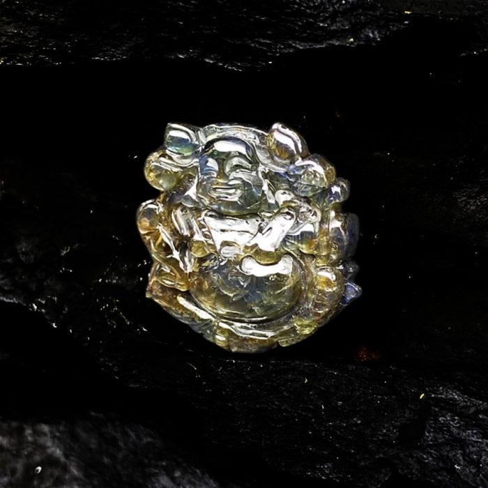 Mặt Phật Di Lặc Sapphire Phan Thiết #MSP-0406-01 3
