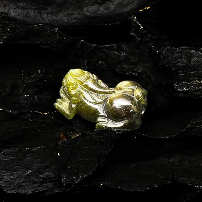 Mặt Tỳ Hưu Đá Sapphire Tự Nhiên #MSP-0406-03 2