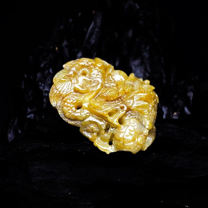 Mặt Rồng Sapphire Vàng Tự Nhiên #MSPV-0406-02 3