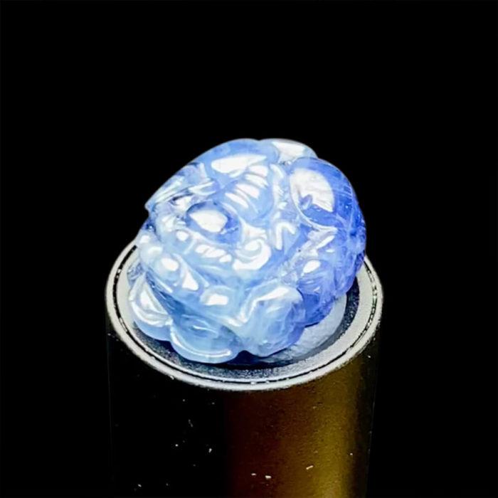 Mặt Nhẫn Tỳ Hưu Đá Sapphire Lục Yên #MSP-0820-03 1