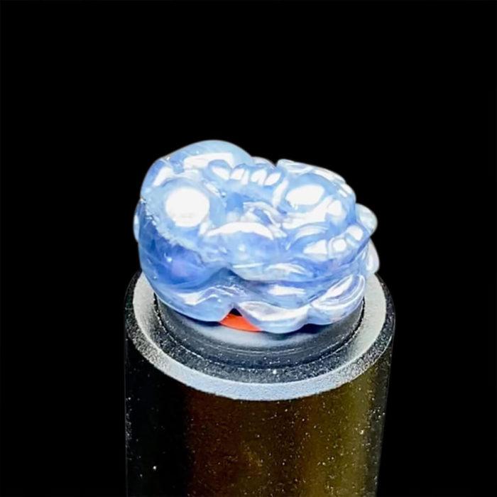 Mặt Nhẫn Tỳ Hưu Đá Sapphire Lục Yên #MSP-0820-10 1