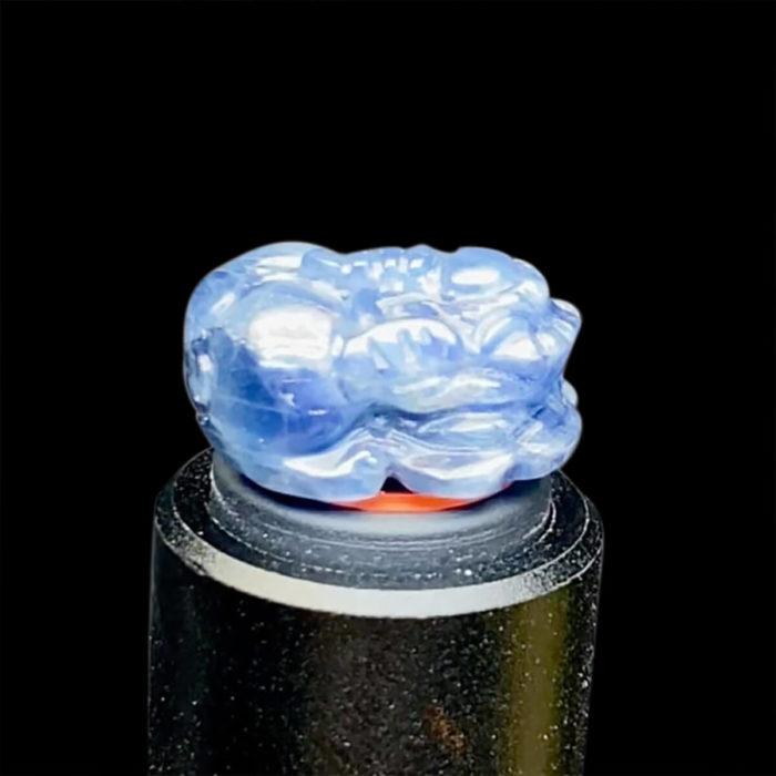 Mặt Nhẫn Tỳ Hưu Đá Sapphire Lục Yên #MSP-0820-10 2