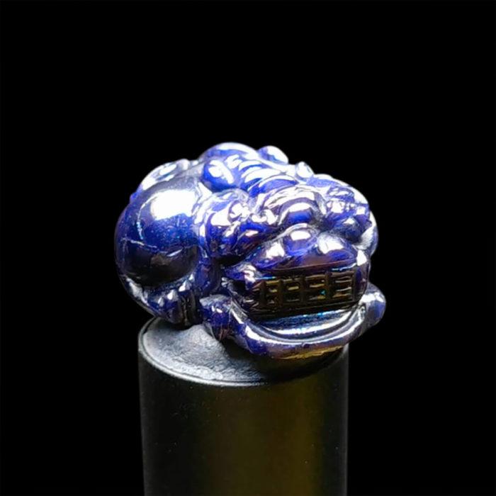 Mặt Tỳ Hưu Đá Sapphire Xanh Hero Tự Nhiên #MSP-0923-08 1
