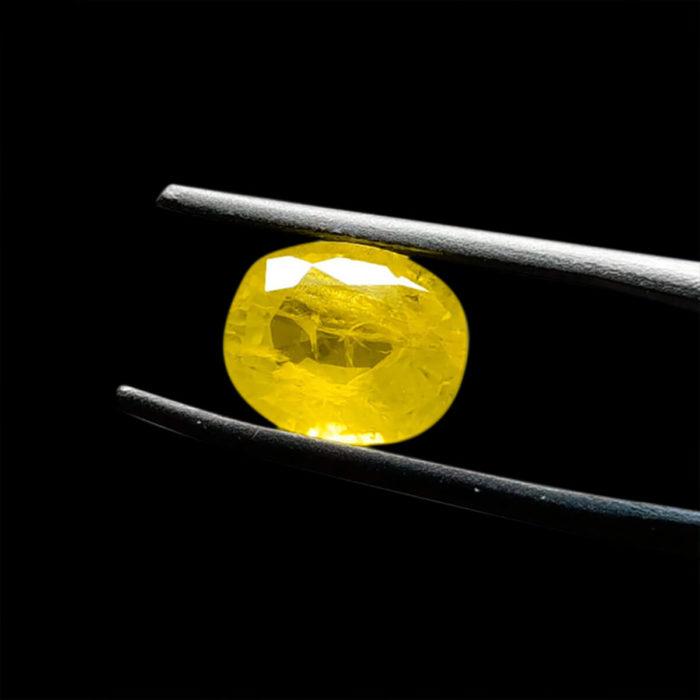 Mặt Nhẫn Đá Sapphire Vàng Tự Nhiên #MSP-0923-14 1