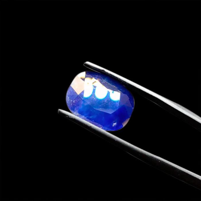Mặt Nhẫn Đá Sapphire Xanh Hero - Tự Nhiên #MSP-0923-15 1