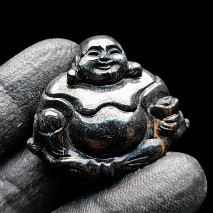 Mặt Phật Di Lặc Sapphire Đen - Tự Nhiên #MSP-1004-03 1