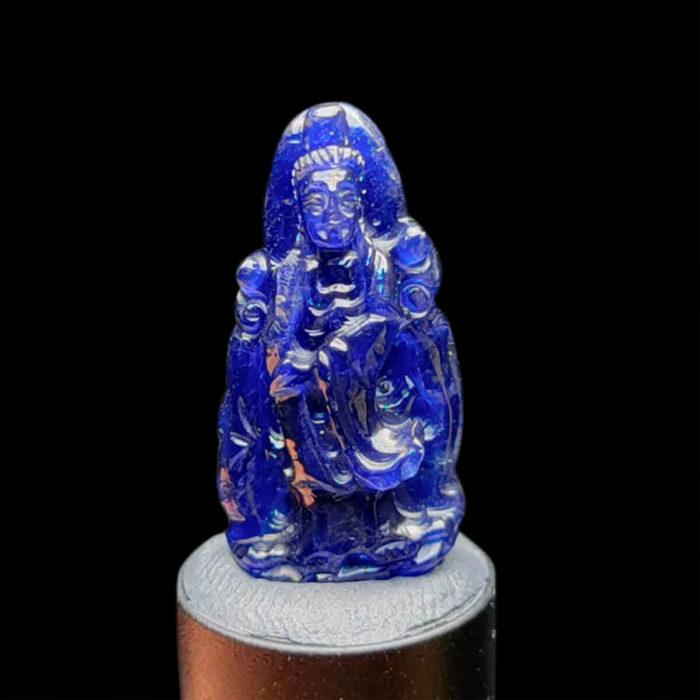 Mặt Quan Thế Âm Bồ Tát Sapphire Xanh Hero #MSP-1004-16 1