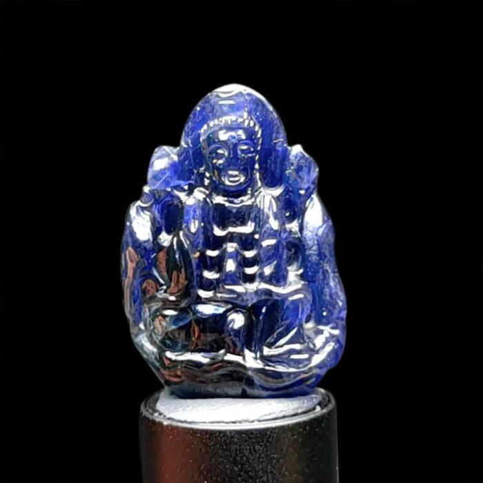 Mặt Quan Thế Âm Bồ Tát Sapphire Xanh Hero #MSP-1004-17 1