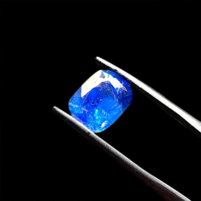 Mặt Nhẫn Đá Sapphire Xanh Hero - Mogok - Tự Nhiên #MSP-1005-01 1