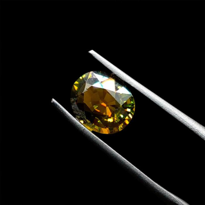 Mặt Nhẫn Tourmaline Lục Yên #MTM-0923-05 1