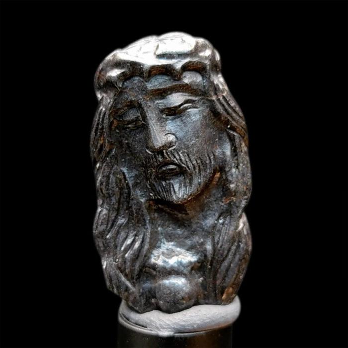 Mặt Chúa Giê Su Sapphire Đen #MSP-1025-03 1