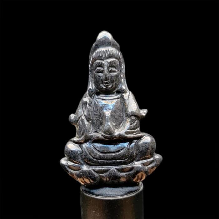 Mặt Quan Thế Âm Bồ Tát Sapphire Đen #MSP-1025-11 1