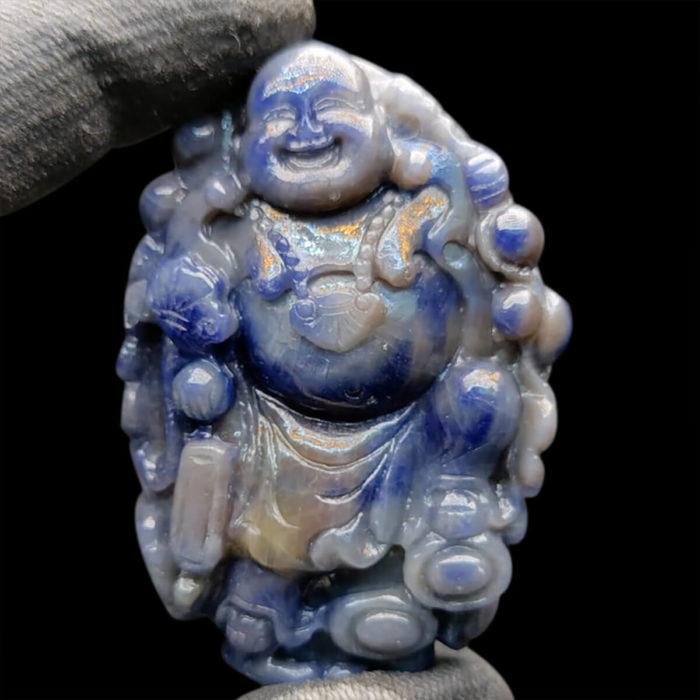 Mặt Phật Di Lặc Sapphire Yên Bái #MSP-1025-17 1