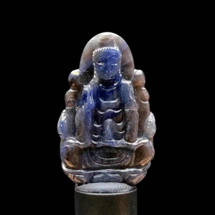 Mặt Quan Thế Âm Bồ Tát Sapphire Xanh Xám #MSP-1111-06 1