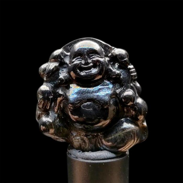 Mặt Phật Di Lặc Sapphire Đen #MSP-1111-09 1