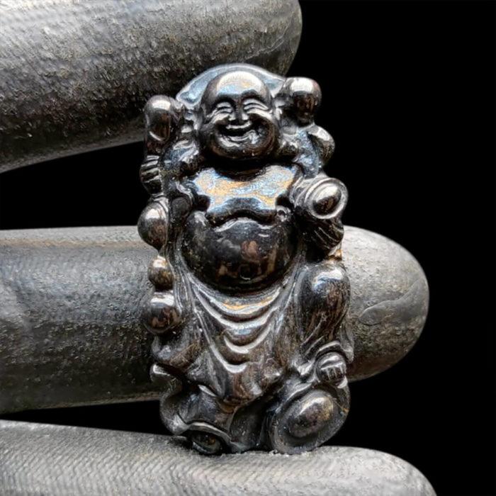 Mặt Phật Di Lặc Sapphire Đen #MSP-1111-11 1