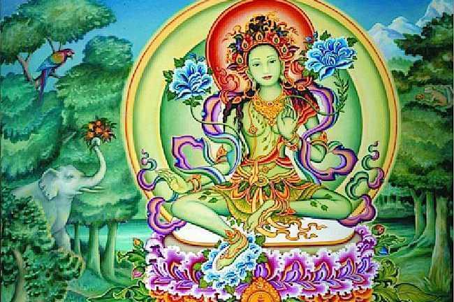 Duc Tara Xanh Hay Con Goi La Luc Do Phat Mau