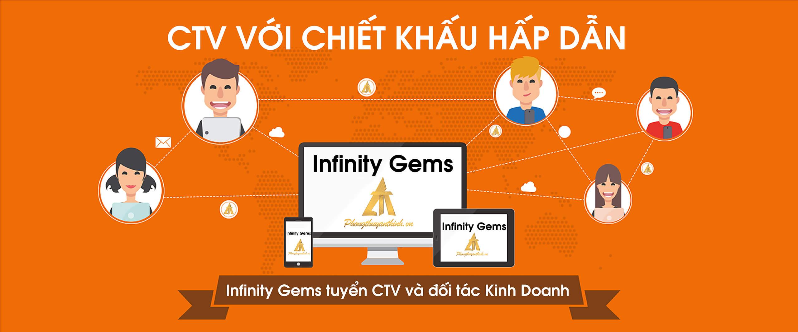 Infinity Gems An Thịnh tuyển Cộng Tác Viên bán hàng và Đối Tác kinh doanh online 1