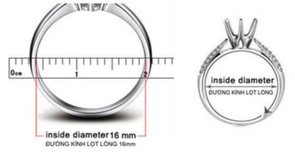Cách đo Ni Nhẫn - How to find your Ring Size 10
