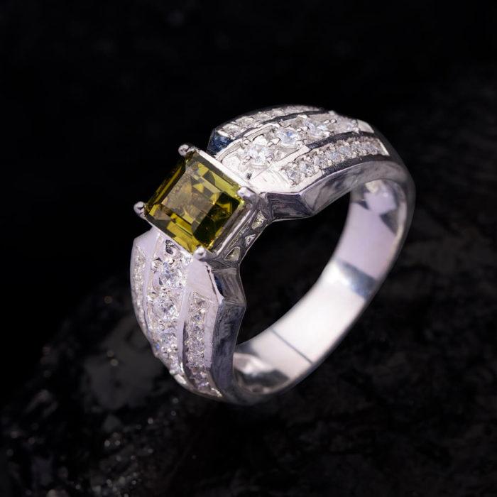 Nhẫn Nữ - Bạc - Đá Sapphire Xanh Tự Nhiên #NSP-210630-02 1