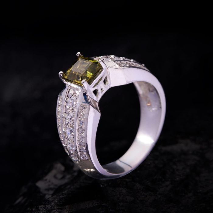 Nhẫn Nữ - Bạc - Đá Sapphire Xanh Tự Nhiên #NSP-210630-02 2