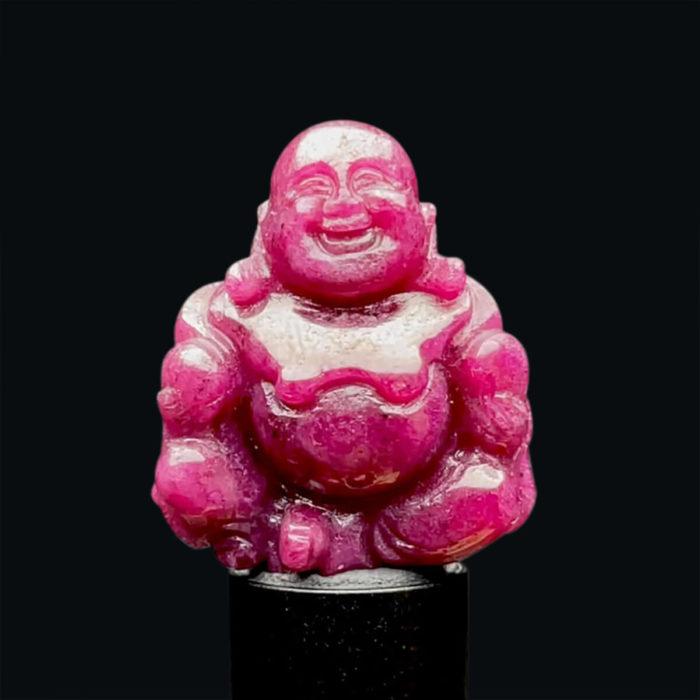 Mặt Phật Di Lặc - Đá Ruby Phi Tự Nhiên #MRB-210727-09 1