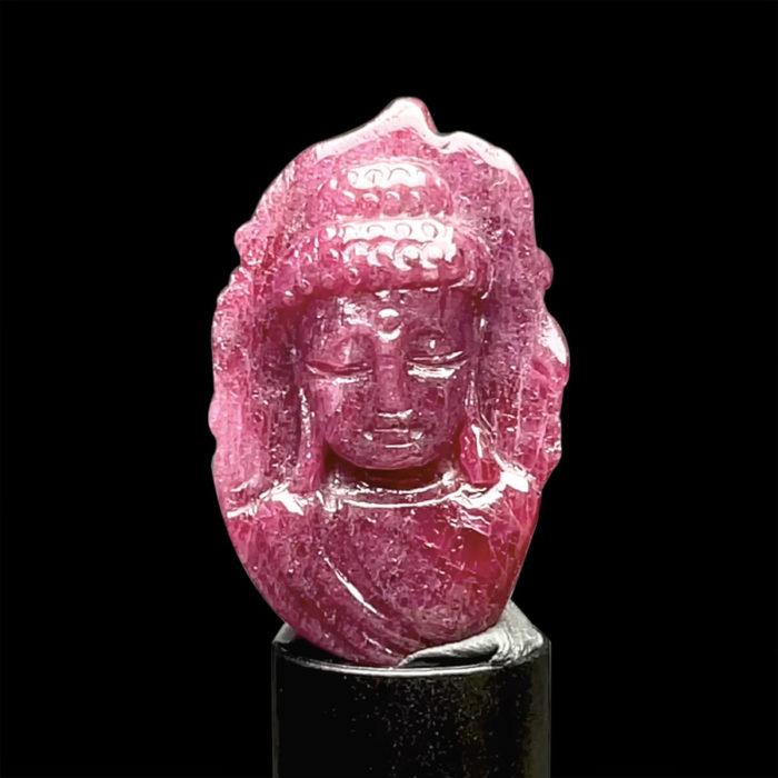 Mặt Phật A Di Đà - Đá Ruby Phi Tự Nhiên #MRB-210728-02 1
