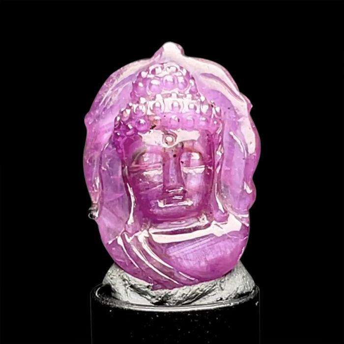 Mặt Phật A Di Đà - Đá Ruby Phi Tự Nhiên #MRB-210728-03 1