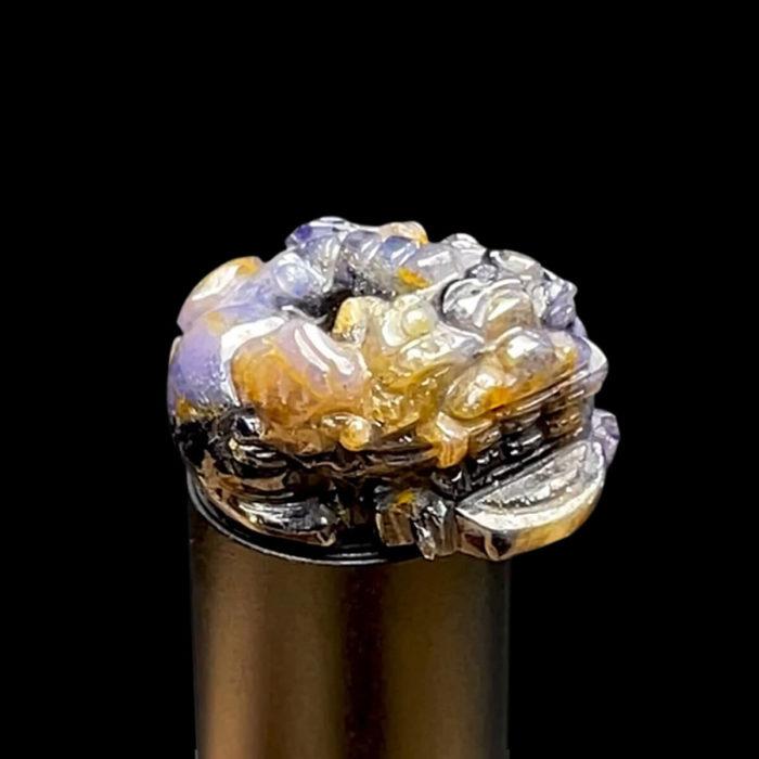 Mặt Cụ Tỳ Hưu - Đá Sapphire Lục Yên #MSP-210801-01 1