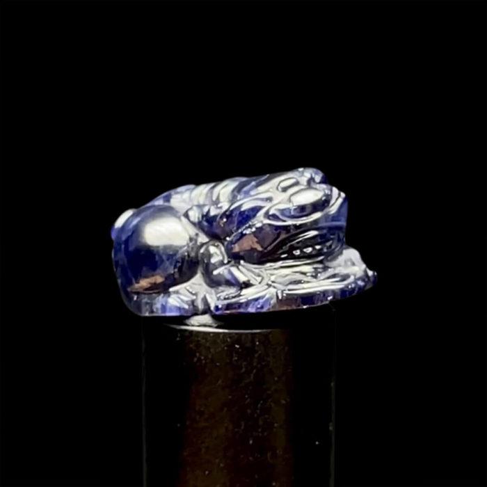 Mặt Cụ Tỳ Hưu - Đá Sapphire Phan Thiết #MSP-210801-03 1