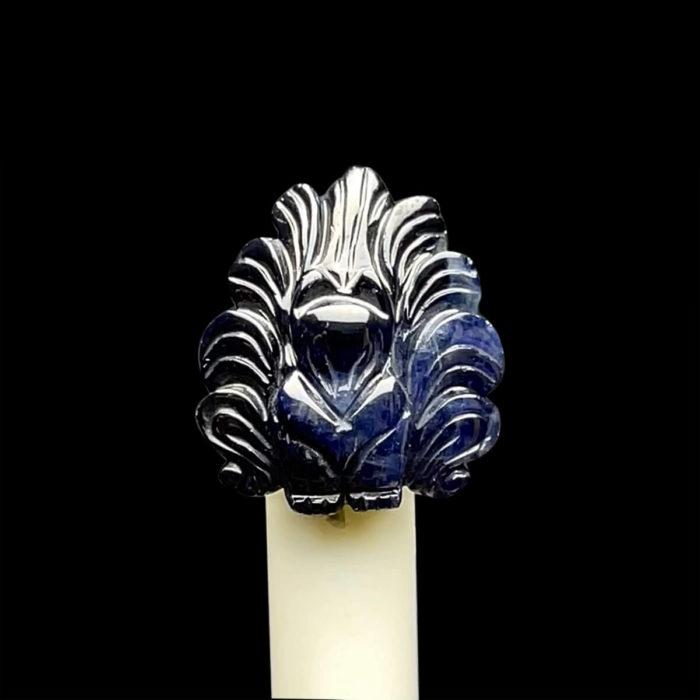 Mặt Hồ Ly - Đá Sapphire Xanh Hero - Phan Thiết #MSP-210914-04 1
